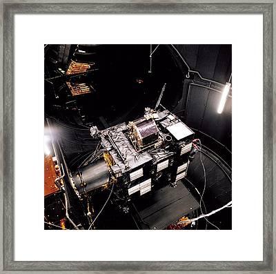 Rosetta Spacecraft Framed Print by European Space Agency,a. Van Der Geest