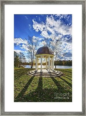 Rotund At Raadi Manor Park Framed Print by Mario Mesi