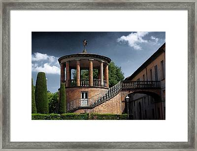 Rotunda Rossi #1 Framed Print by Loris Bagnara