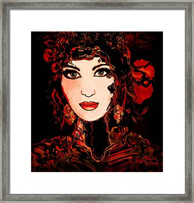 Rouge Framed Print by Natalie Holland