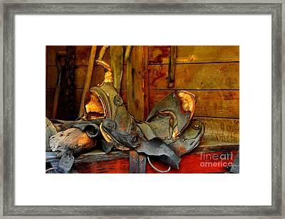 Rough Ride Framed Print by Lauren Leigh Hunter Fine Art Photography