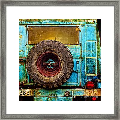 Rough Times Pop Framed Print by Lutz Baar
