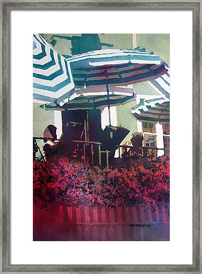 Round And Round II Framed Print by Kris Parins