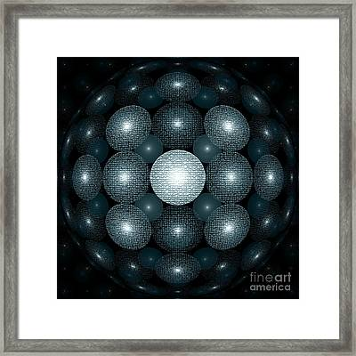 Round And Round Framed Print by Klara Acel