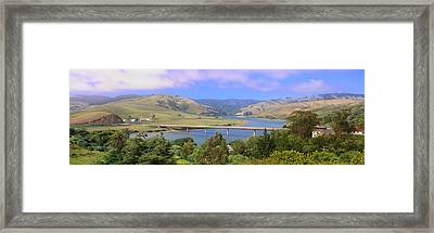 Route 1, Bridge Over Russian River Framed Print by Panoramic Images