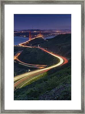 Route 101 Framed Print by Rick Berk