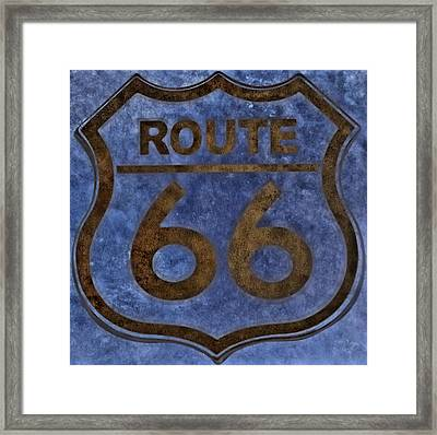 Route 66 Framed Print by Dan Sproul