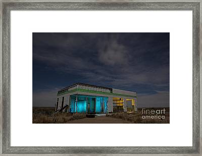 Route 66 Full Service Framed Print by Keith Kapple