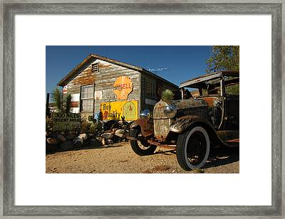 Route 66 Framed Print by Paul Van Baardwijk