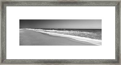 Route A1a, Atlantic Ocean, Flagler Framed Print by Panoramic Images