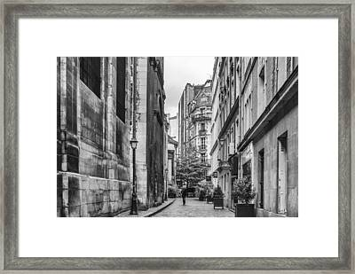 Route Parisian Framed Print by Georgia Fowler