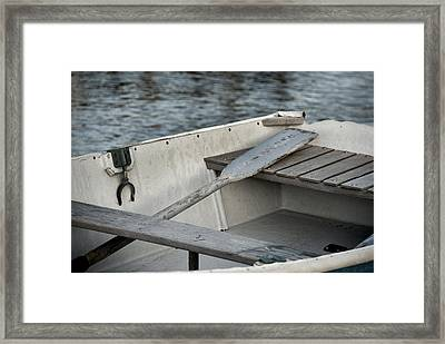 Rowboat Framed Print by Charles Harden
