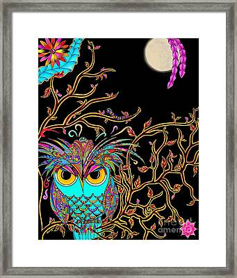 Rowl Framed Print by Rebeca Rambal