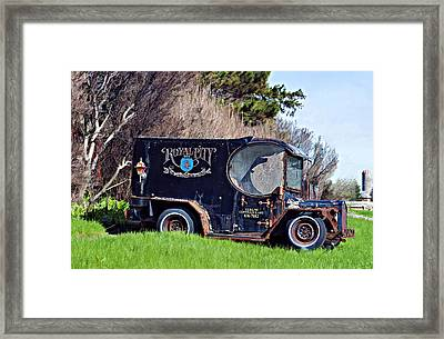 Royal City Paddy Wagon Framed Print by Steve Harrington