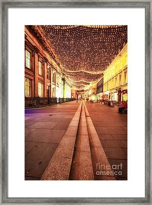 Royal Exchange Square Glasgow Framed Print by John Farnan