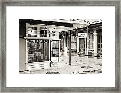 Royal Pharmacy Framed Print by Scott Pellegrin
