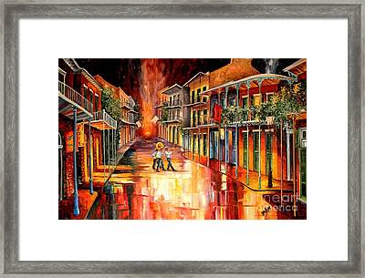 Royal Street Serenade Framed Print by Diane Millsap