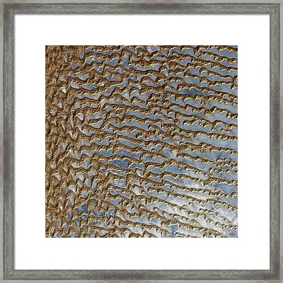 Rub Al Khali Arabia Framed Print by Adam Romanowicz