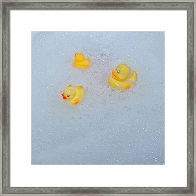 Rubber Ducks Framed Print by Joana Kruse