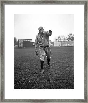 Rube Waddell Framed Print by Retro Images Archive