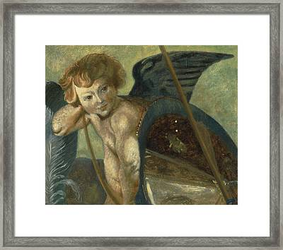 Ruben's Angel Framed Print by Shelley Irish