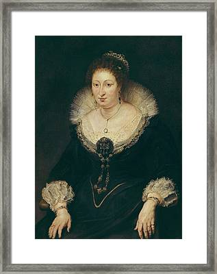 Rubens, Peter Paul 1577-1640. Lady Framed Print by Everett
