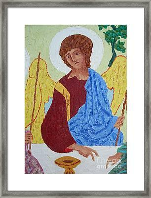 Rublev Angel Framed Print by Phillip Castaldi
