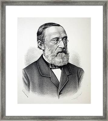 Rudolf Virchow Framed Print by Paul D Stewart