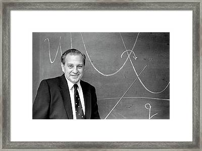 Rudolph Marcus Framed Print by Us Department Of Energy