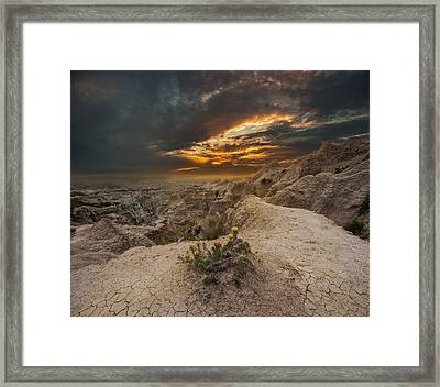 Rugged Beauty Framed Print by Aaron J Groen