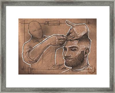 Rugged Shears Framed Print by Chuck Styles