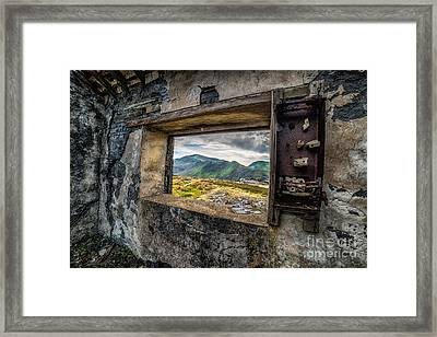 Ruin With A View  Framed Print by Adrian Evans
