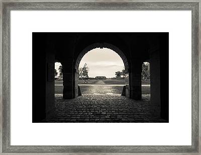 Ruins Of River Fort Designed By Vauban Framed Print by Panoramic Images