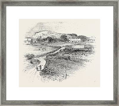 Ruins Of Wark Castle Framed Print by English School