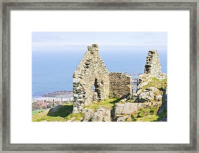 Ruins Framed Print by Tom Gowanlock