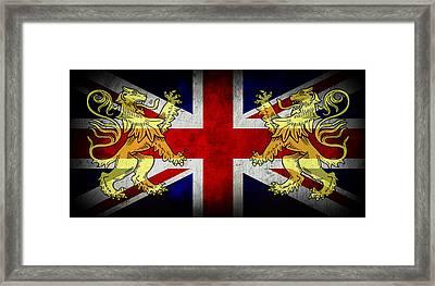 Rule Britannia 2 Framed Print by Daniel Hagerman