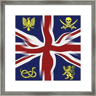 Rule Britannia Framed Print by Daniel Hagerman