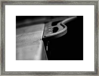 Ruling With A Metal Fist Framed Print by Wattie Wildcat