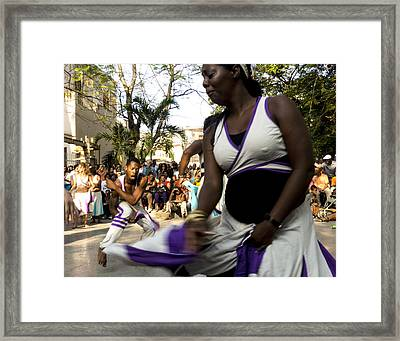 Rumba Havana Framed Print by Ann Tracy