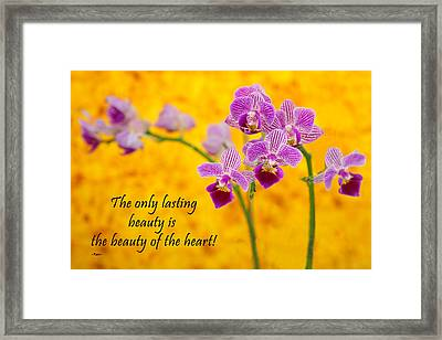 Rumi Quote-1 Framed Print by Rudy Umans