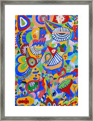 Rumor By Taikan Framed Print by Taikan Nishimoto