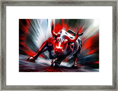 Run Framed Print by Az Jackson