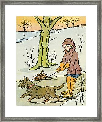 Run Dandy Run Framed Print by Anonymous