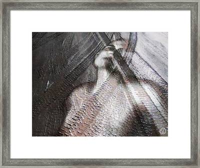 Run Over Framed Print by Gun Legler