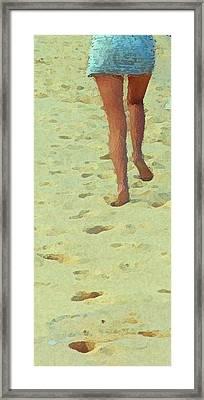 Runaway Impressions One Framed Print by Robert J Sadler