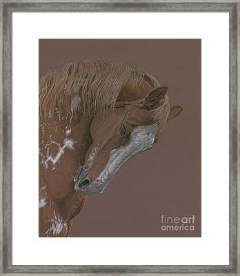 Rune Framed Print by Laura Klassen