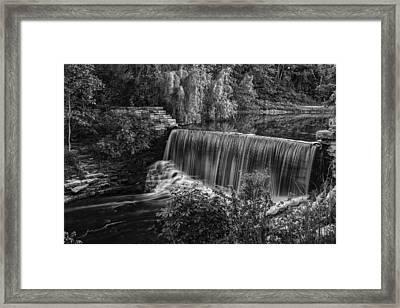 Running Over Framed Print by CJ Schmit