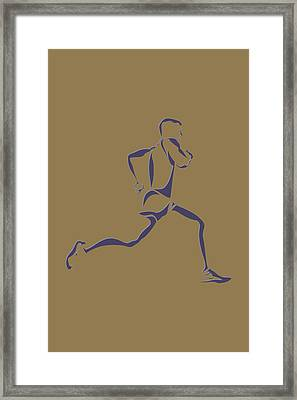 Running Runner8 Framed Print by Joe Hamilton