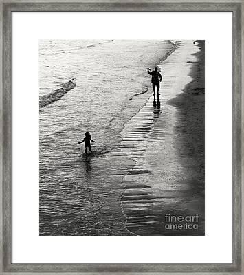 Running Wild Running Free Framed Print by Edward Fielding