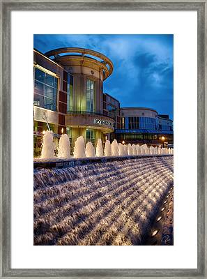 Rupp Fountain Framed Print by Rob Beverly